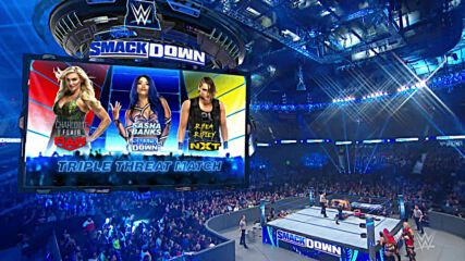 Charlotte Flair vs. Rhea Ripley vs. Sasha Banks – Triple Threat Match: SmackDown, Nov. 22, 2019
