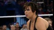 Вики Гереро се прави на умряла за да не се бие срещу Ей Джей / Първична сила 18.11.2013г.