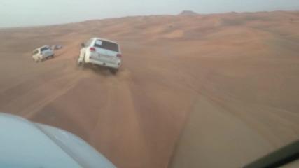 Сафари в пустинята на Дубай