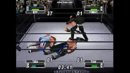 Royal Rumble - Jeff Hardy Vs. Taka