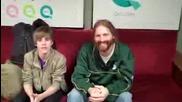 Justin Bieber and Dave Reynolds [ funny ]