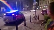 За това си трябва Смелост! – Вижте как се кара BMW на кръговото пред очите на полицията!