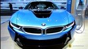 2015 Bmw i8 - Exterior and Interior Walkaround - 2014 New York Auto Show