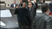 Paul McCartney, Kanye West Together At Paris Fashion Week