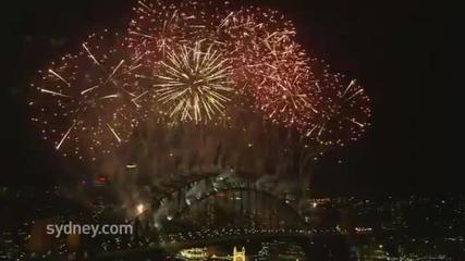 Посрещане на Нова година в Австралия ! Невероятно шоу !