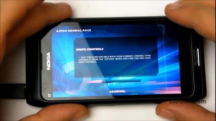 Nokia E7 - 00 video review - Games