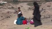 Iraq: First civilians fleeing Mosul arrive near Al-Qayyarah