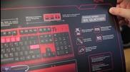 Meka G1 Prime Издание Геймърска Клавиатура Разопаковане!пръв поглед (tt esports)