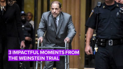 The gut-wrenching moments at Harvey Weinstein's trial so far