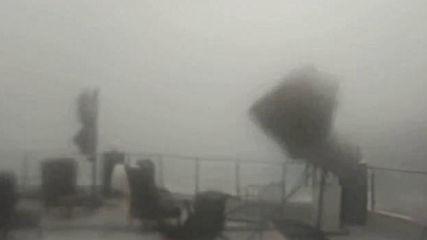 Ураган над остров Тасос