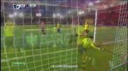 Саутхямптън 2:0 Арсенал 01.01.2015