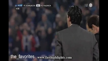 Schalke 3 : 1 Valencia 09.03.2011