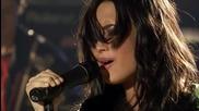 Demi Lovato - Here we go again ( Wallmart Soundcheck) ( High Quality - Високо Качество) (бг превод)