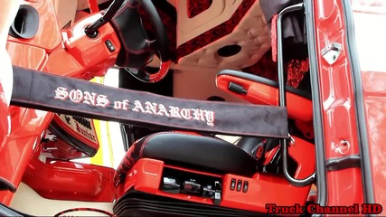 Scania V8 R500 Weeda Klundert - Special Painting Sons of Anarchy