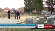 Николай Димитров - първа копка за реконструкция на парковото пространство в с. Оризаре