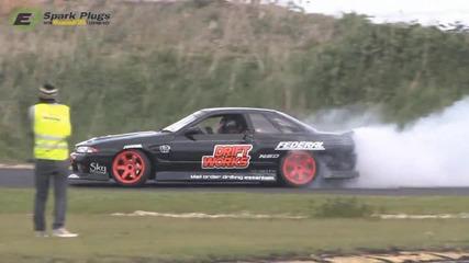 (hd) Driftworks R32 Skyline 1jz Drift