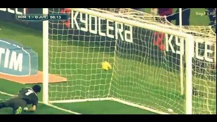 Рома - Ювентус 1:0 - Гол на Франческо Тоти !