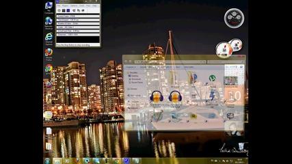 Как да си украсим екрана (windows 7)