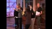 Justin Bieber - meets fan Ellen Show