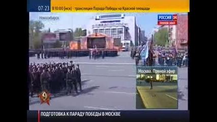 Парад на победата 9 май 2014, Новосибирск - част 1