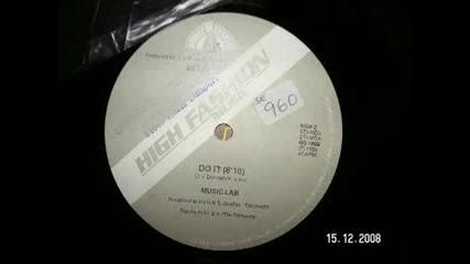 Music Lab - Do it - 1986 euro disco