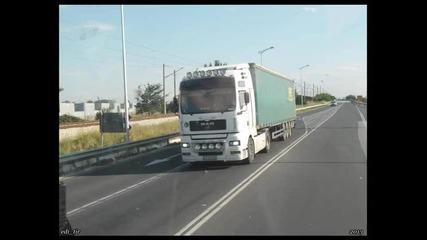 Man Truck`s in Bulgaria