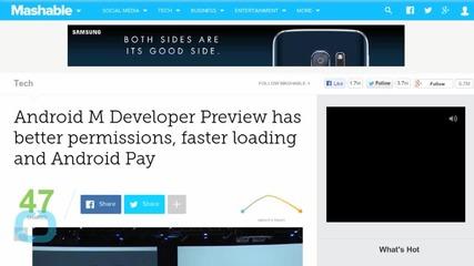 Google Announces Android M Developer Preview