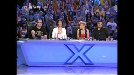 Изпълнението,което разплака публиката - Боряна Баташова ( X Factor )