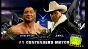 No Mercy 2008 Matches