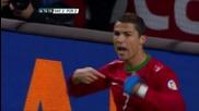 Роналдо Във Вихъра Си! Швеция - Португалия 2:3 ( Всичките Голове ) 19.11.13