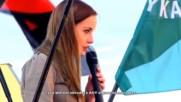 Полско момиче говори открито срещу мюсюлманските имигранти - Poles support Mr. Trumps Immigration Pl