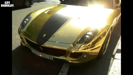Ferrari 599 в злато