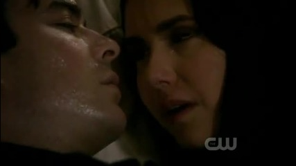 Damon and Elena Kiss Scene - 2x22 Finale As I Lay Dying [the Vampire Diaries]
