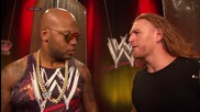 Flo Rida deals with an interrupting Heath Slater: Raw, July 21, 2014 (extended version)