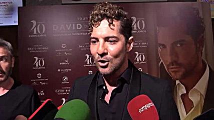David Bisbal Cumplio 40 anos con un concierto en el Teatro Real / Entrevista