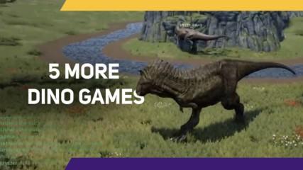 5 More Dino Games