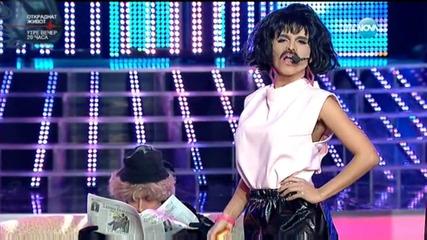 Преслава като Freddie Mercury -