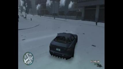 Gta Iv Snow Mod - Mercedes Drift