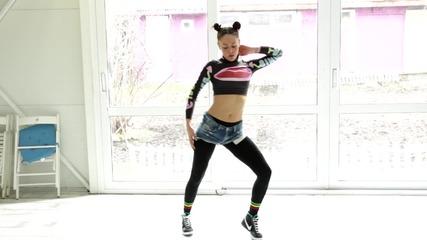 5 основни Ragga Dancehall стъпки :)