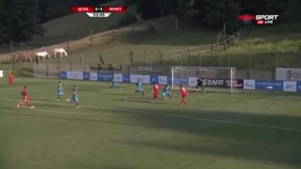 ЦСКА - Зенит 2:1 /репортаж/