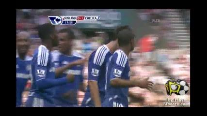 10.09.2011 Съндърланд 0-1 Челси гол на Джон Тери