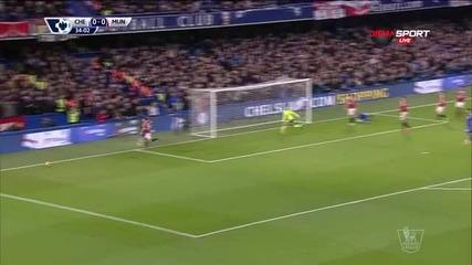 Челси - Манчестър Юнайтед 0:0 /първо полувреме/