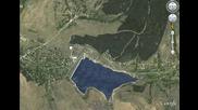 Село Горна Диканя от сателит