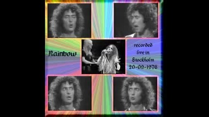 Rainbow - Man On The Silver Mountain live in Stockholm 09.20.1976