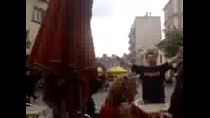 Агитката на Локо загрява с Яко Бира Преди Мача с Рен