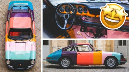 Кола, винтидж, дизайн... Porsche 1965 911 с уникален редизайн