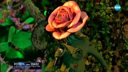 Розата изпълнява I Put a Spell on You  на Annie Lennox | Маскираният певец