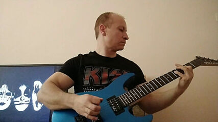 Oki Guitar Player-detroit Rock City (kiss cover)