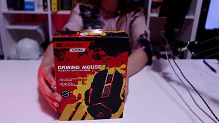 ? Оръжие За Шампиони - ревю на Геймърска Мишка Canyon Hazard от Офисите ?