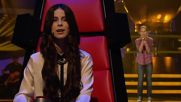 Оливия от Детският Глас на Германия изпълнява песента Satellite на Lena - Winner of Eurovision 2010